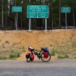 29/07 Too cold and wet to camp on the Willow Creek Pass. So I ended up riding 170km form Silverthorne to Walden = Exhausted