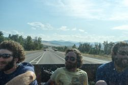 13/08 Road trip to the Glacier National Park in the truck of Eric's dad who travveled with us from Yellowstone to Missoula. Thank you for everything Todd!!